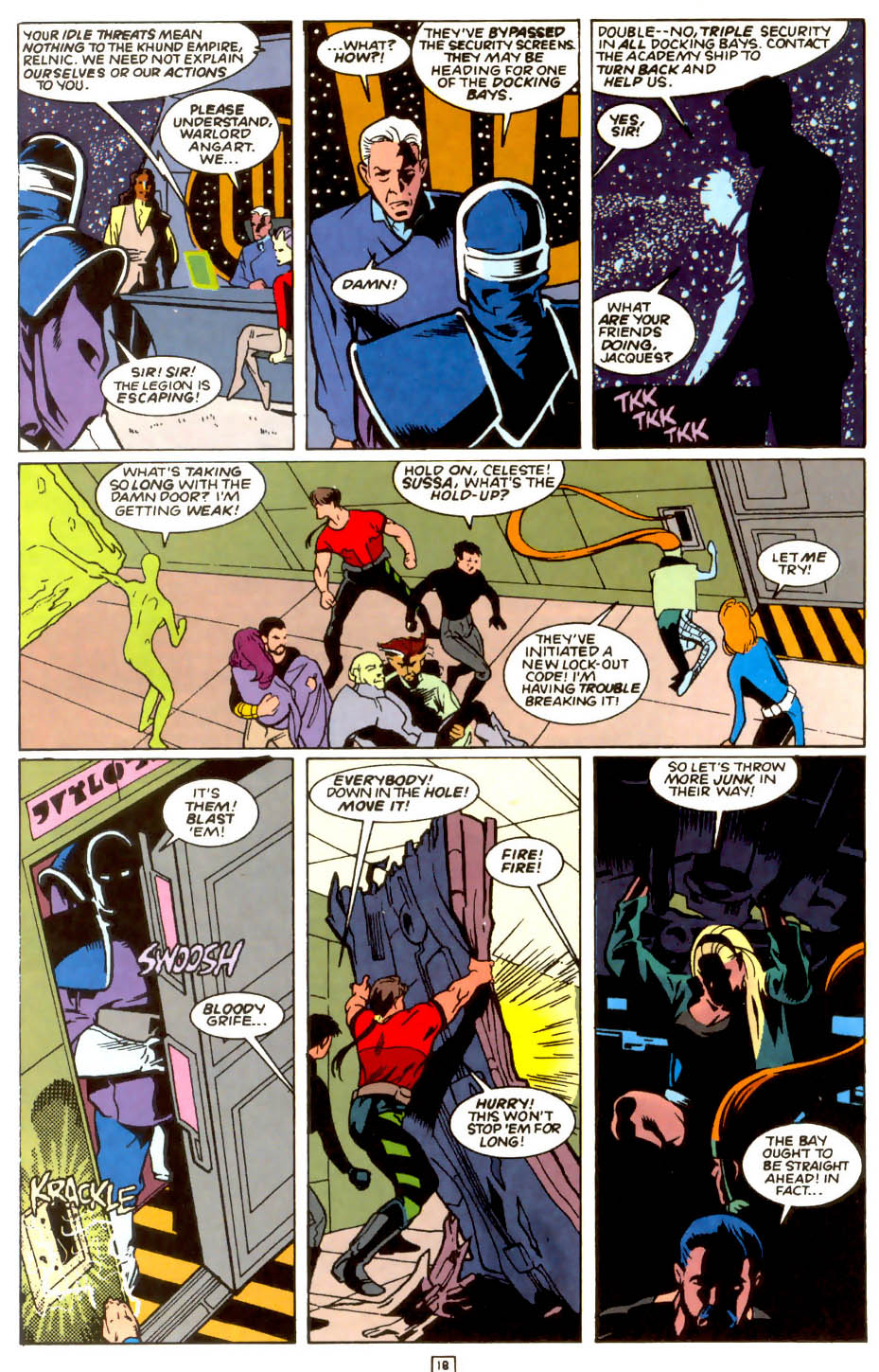 Legion of Super-Heroes (1989) 54 Page 16