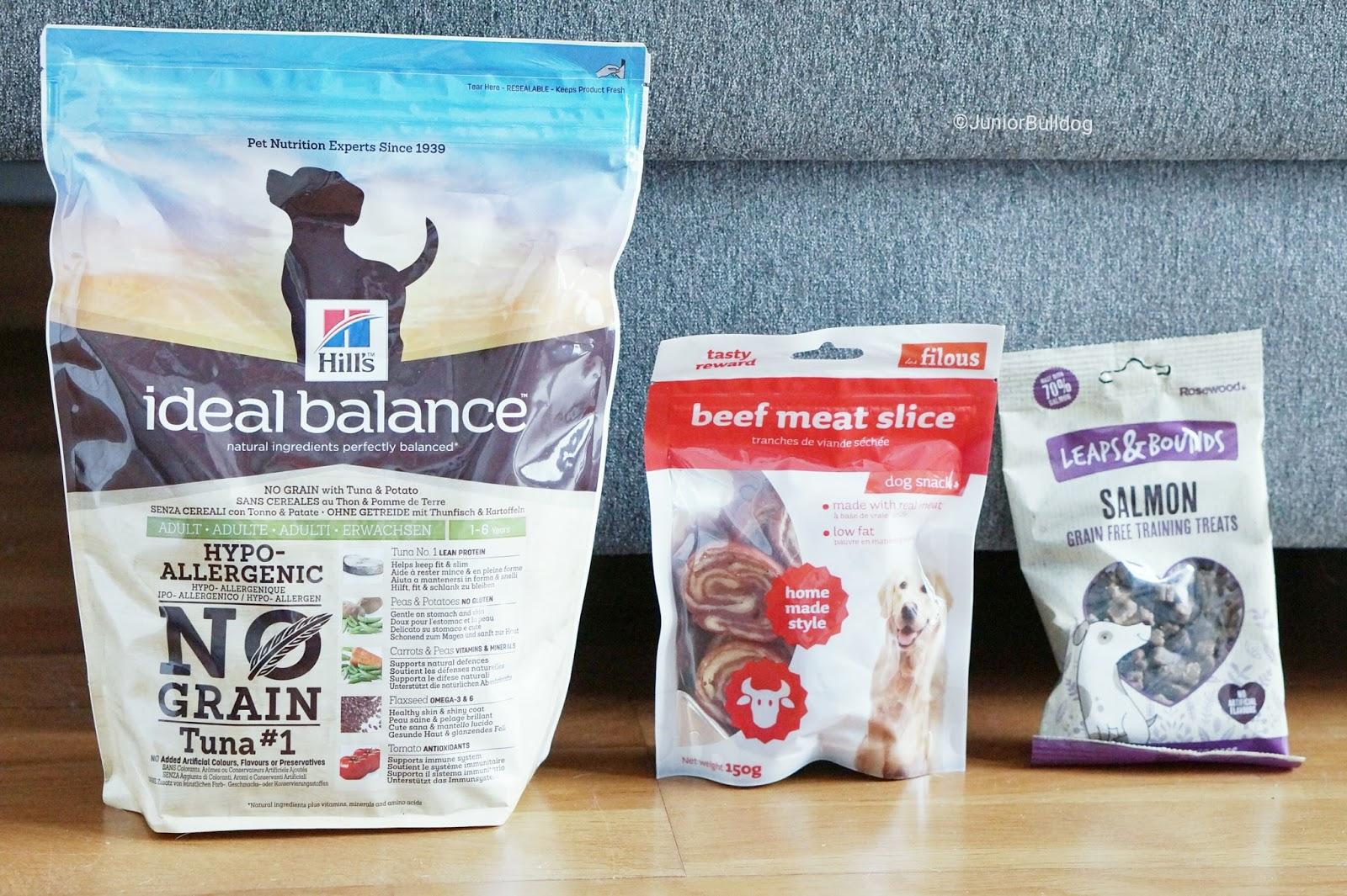Woufbox box chien ideal balance hill's croquettes sans céréales
