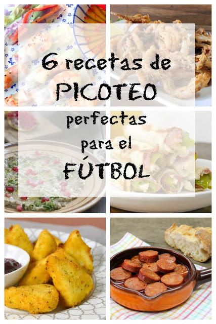6 recetas de picoteo perfectas para el fútbol