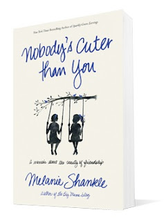 Nobody's Cuter than You Book Cover. Two girls swinging on tree swings.
