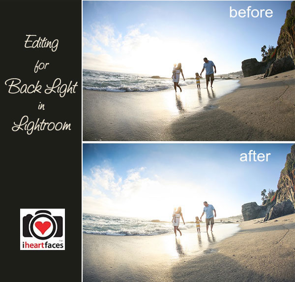 Editing a Backlit Photo in Lightroom