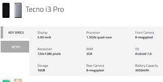7%2BTecno%2Bi3%2Band%2Bi3%2BPro Tecno launches i3, i3 Pro, i5, i5 Pro and i7 into India Market -Spec&Value Root