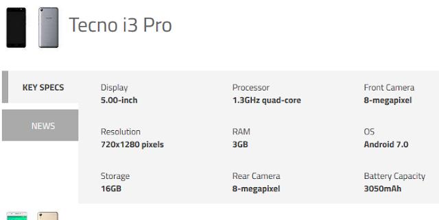 Tecno launches i3, i3 Pro, i5, i5 Pro and i7 into India Market -Spec&Price
