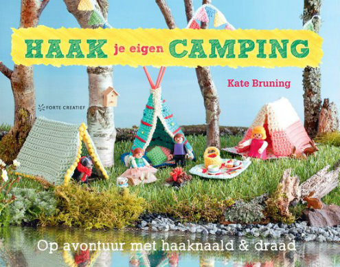 Haak je eigen camping, Kate Bruning (foto's Forte Creatief) | Happy in Red