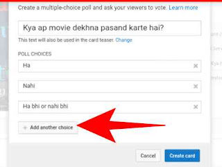 Youtube Me Poll Create Kaise Kare 9