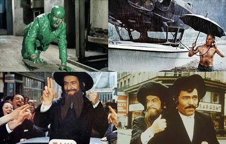 Louis de Funes filmek Jákob Rabbi kalandjai