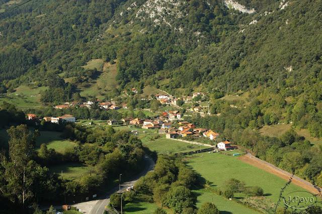 Las Xanas, Asturias, Ruta