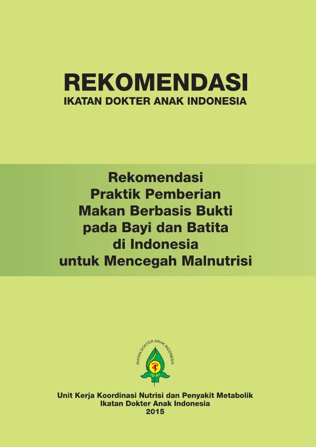 Panduan Mpasi Who 2018 Pdf : panduan, mpasi, Makanan, Pendamping, MPASI, PERSAGI, Bandung