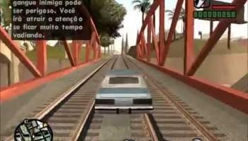 Imagem do jogo (GTA-SAN ANDREAS PS2 pt-br) site: JSV