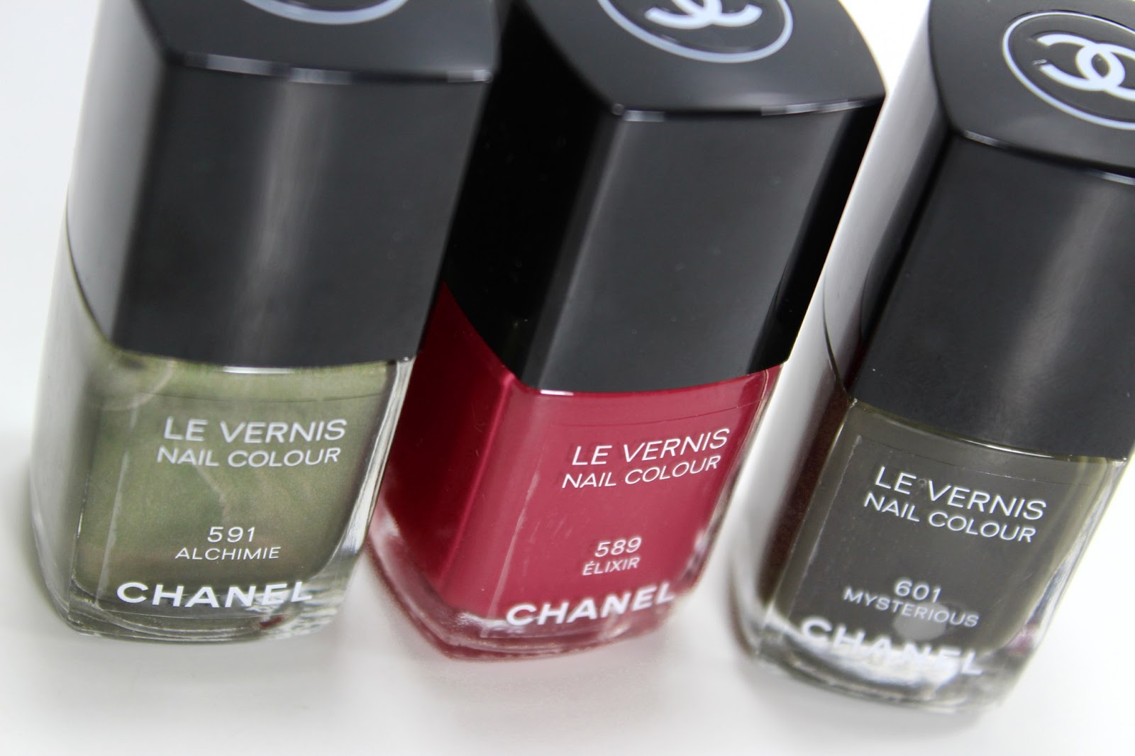 chanel fall nail colors 2013 chanel 201 lixir alchimie and ...