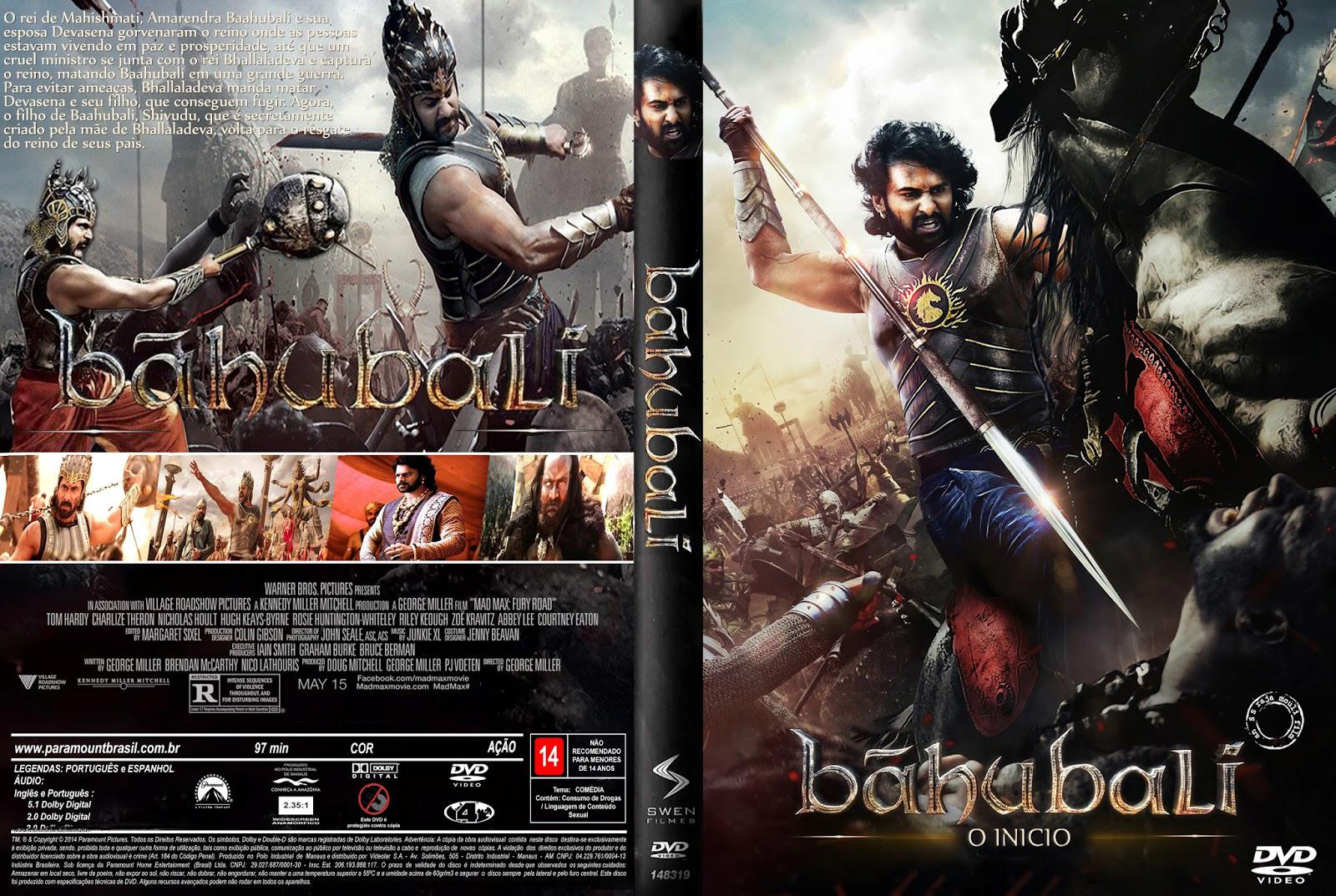 Download Baahubali O Inicio DVD-R