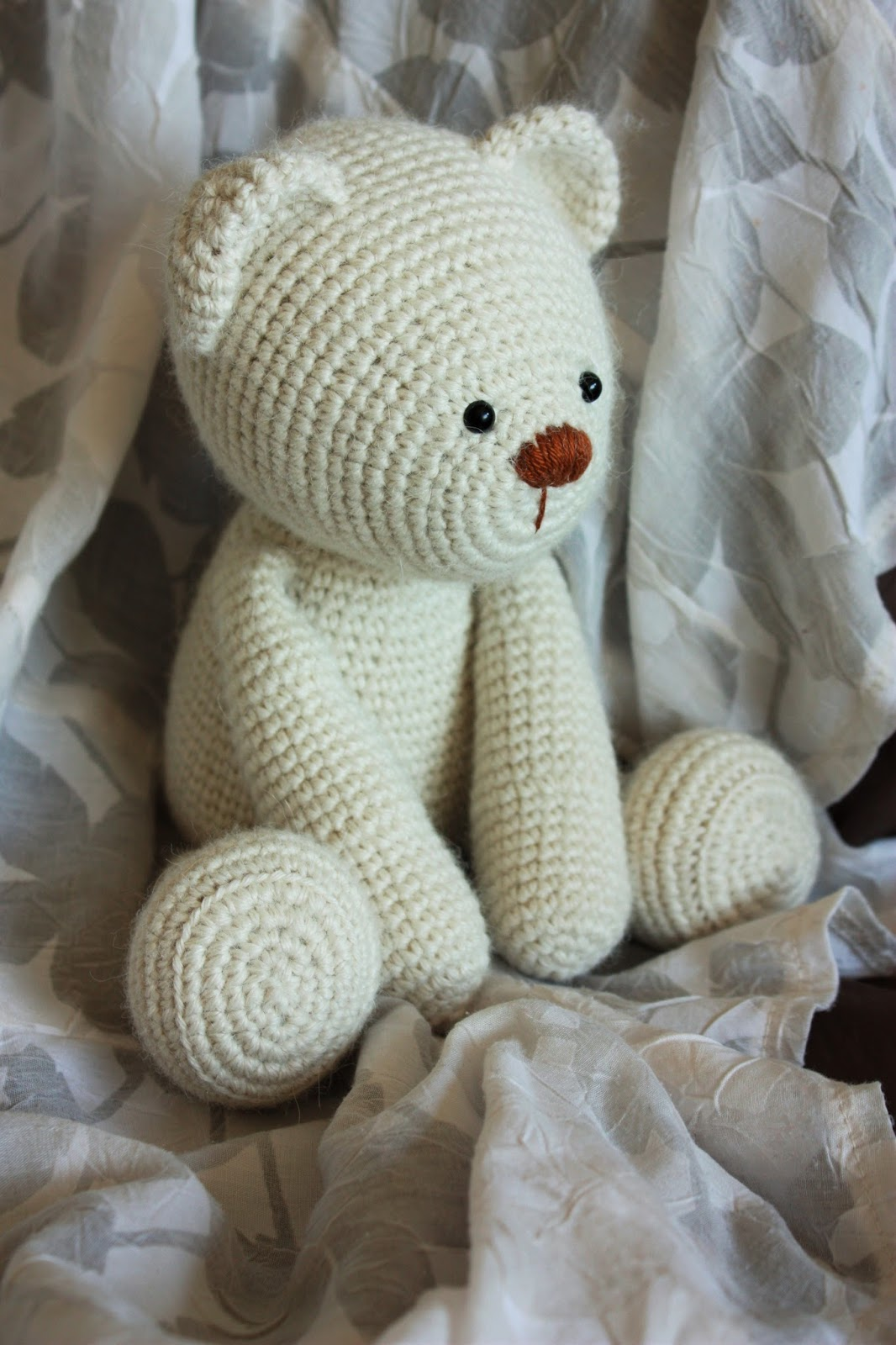 Happyamigurumi: Lucas the Teddy Bear Pattern: New Teddy Bear Friends