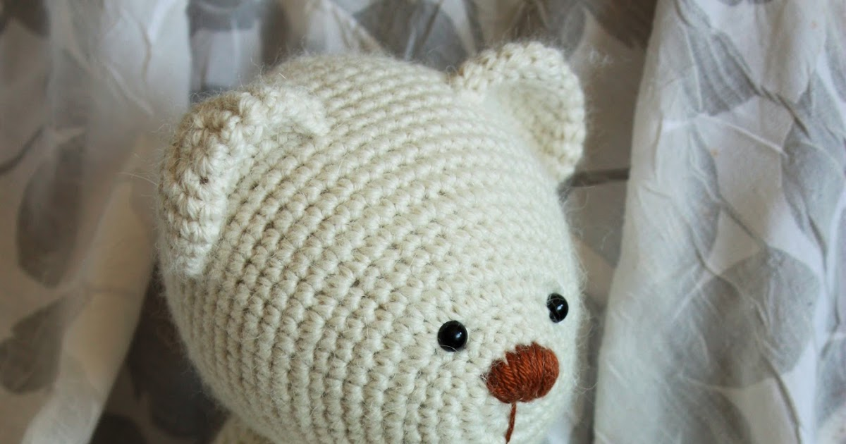 Amigurumi Crochet Stitches : Amigurumi creations by Happyamigurumi: Lucas the Teddy ...