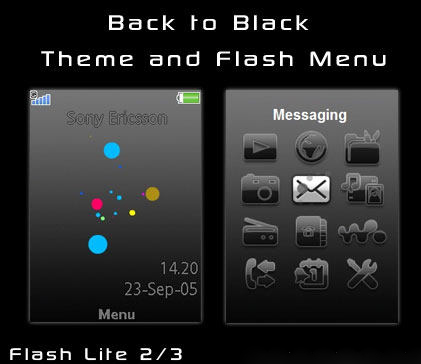 Clock battery sony ericsson theme free apps, mobile software.