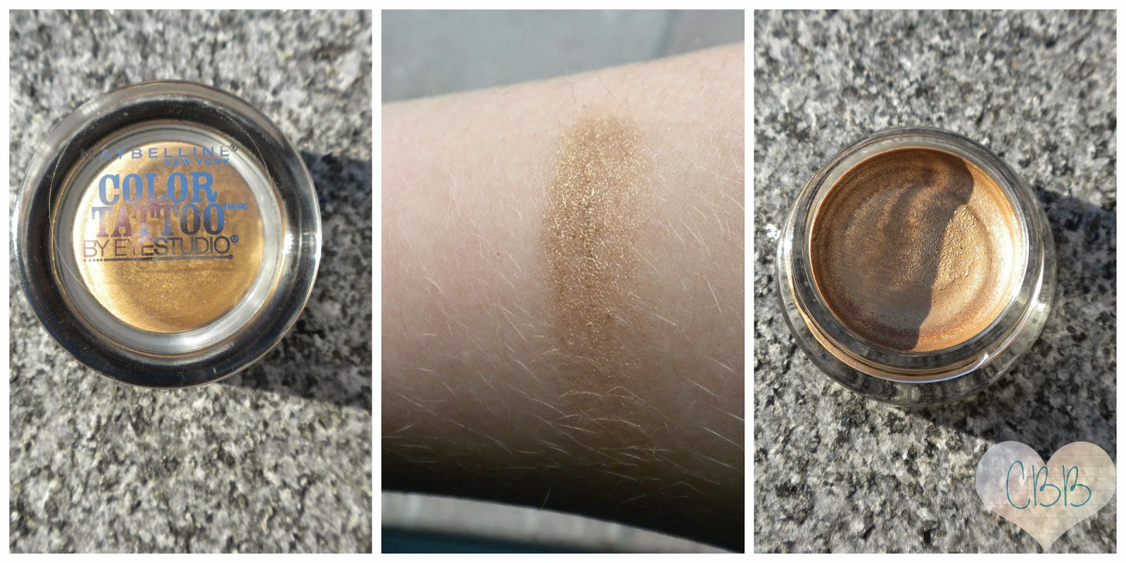 Cream Eyeshadow: MAYBELLINE Eye Studio Color Tattoos ($7)