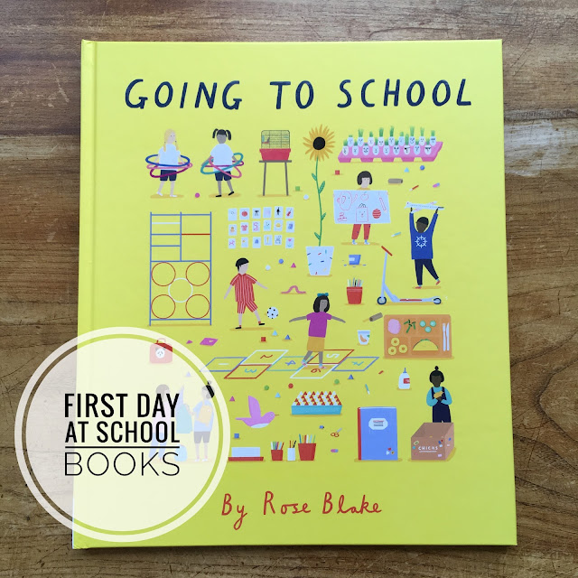 BookBairn: Books About Going to School