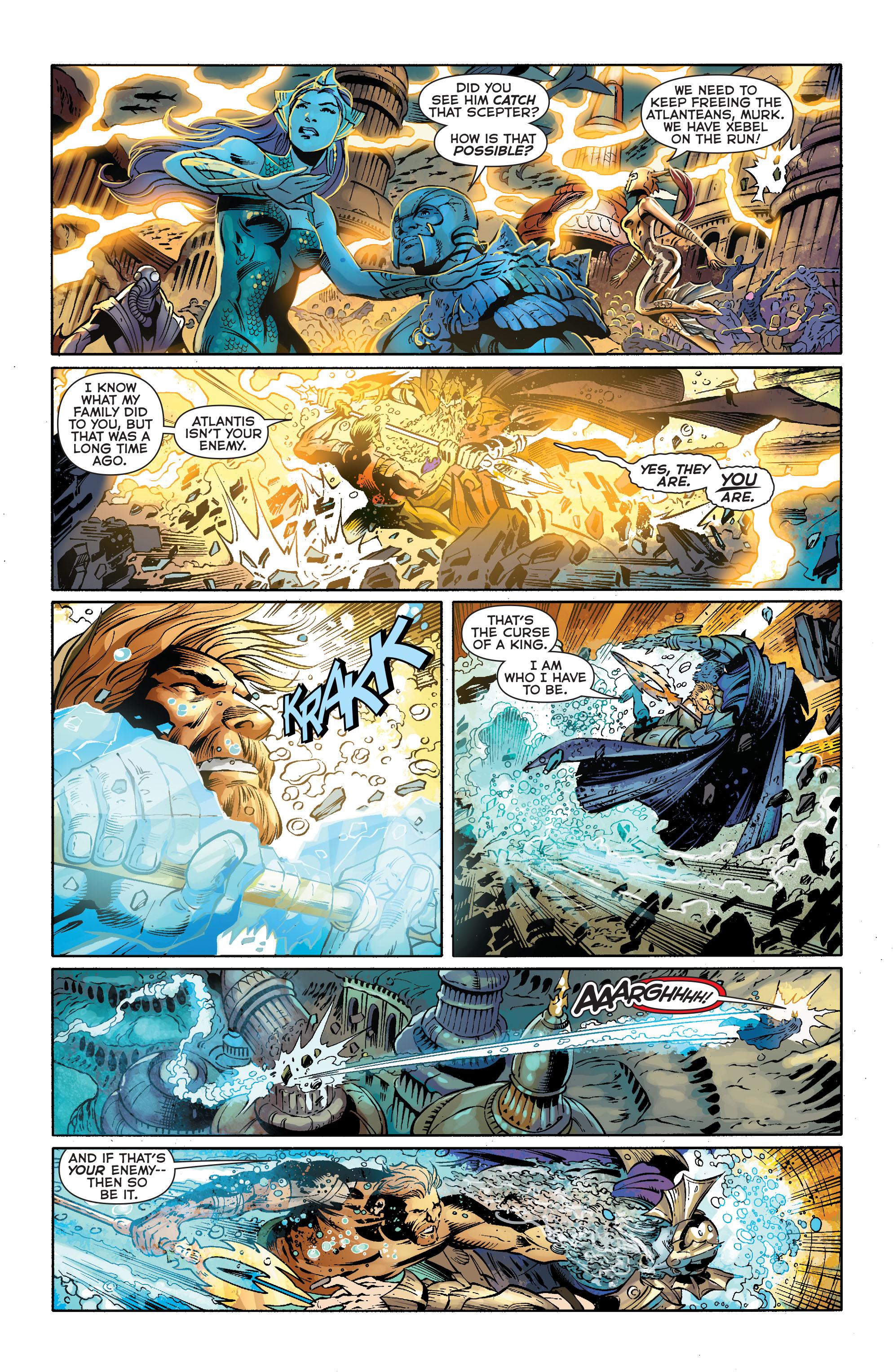 Read online Aquaman (2011) comic -  Issue #25 - 15
