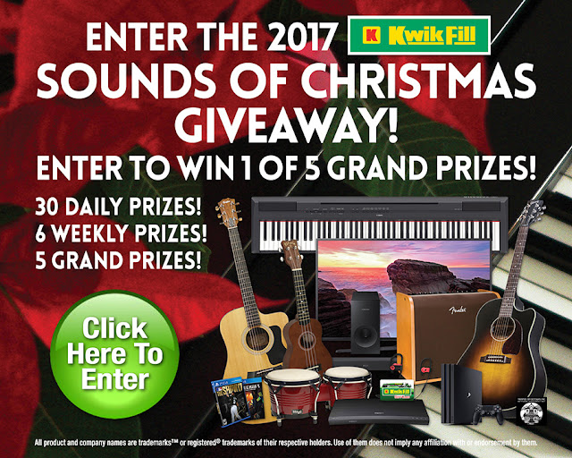 Kwik Fill Sounds of Christmas Sweepstakes
