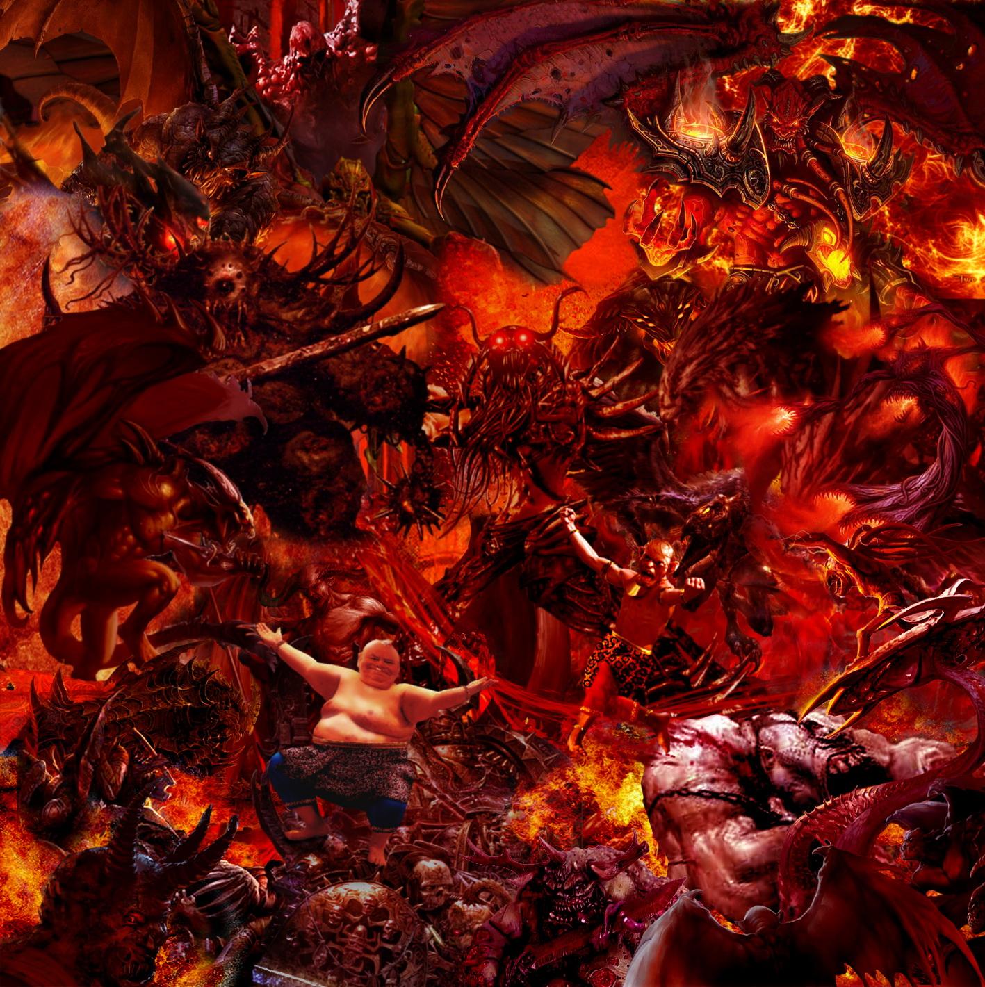 Lucifer Malaikat: TOGOG MELIBAS PASUKAN IBLIS