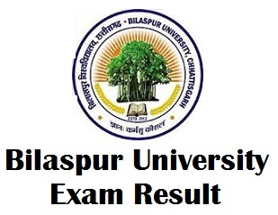 Bilaspur University Bilaspur Result 2017