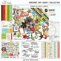 Kit : Ordinary Day Again by Akizo Designs