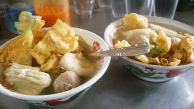 Kuliner cuanki Serayu yang Lezat  diserbu Pengunjung
