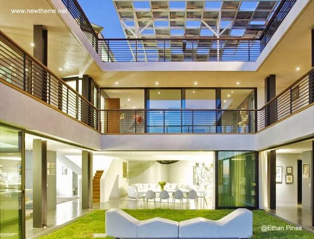Arquitectura de casas casas modernas im genes seleccionadas for Casas con patio interior