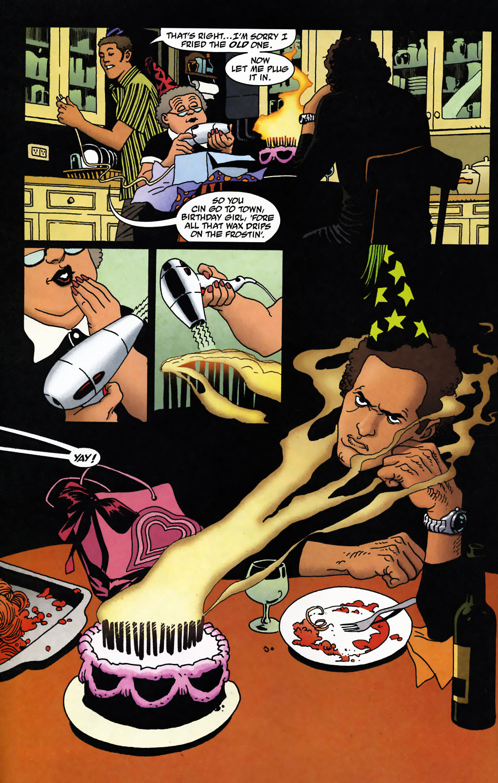 Read online 100 Bullets comic -  Issue #72 - 3