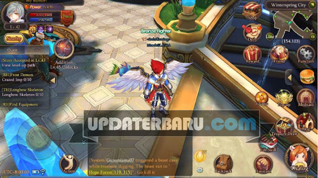 download Starry Fantasy Online English Apk v1.0.3 MOD