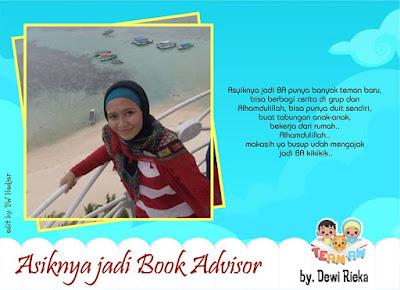 Asyiknya Jadi Book Advisor Mandira Dian Semesta