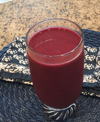 A Fruit and vegetables smoothie