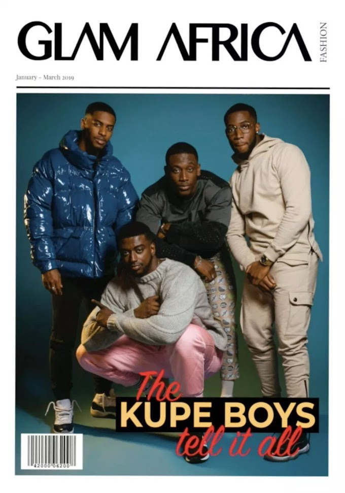 Kupe Boys tell it all in Glam Africa interview