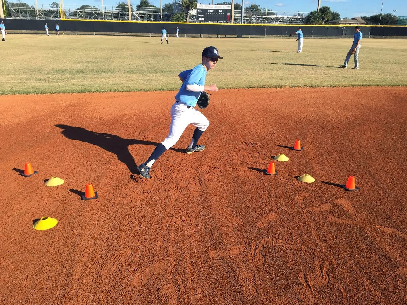 Shortstop Agility Drills   Toffee Art