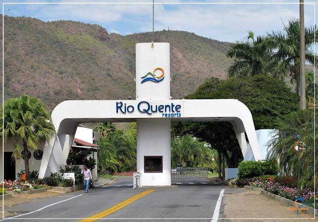 Entrada do Complexo do Rio Quente Resorts