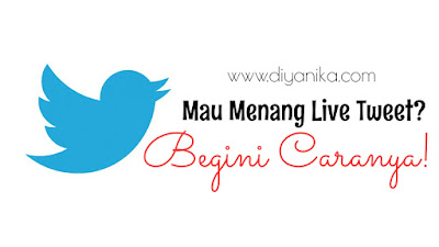 Tips menang live tweet