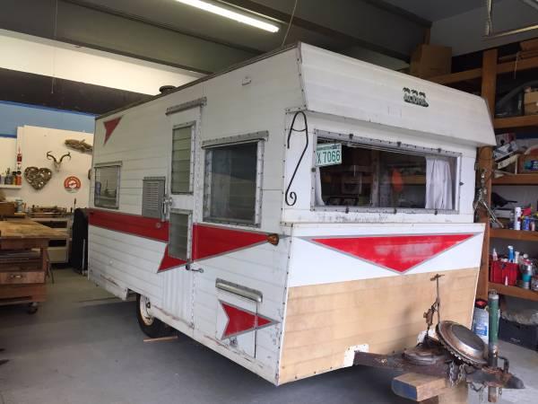 used rvs 1961 aloha travel trailer for sale by owner. Black Bedroom Furniture Sets. Home Design Ideas