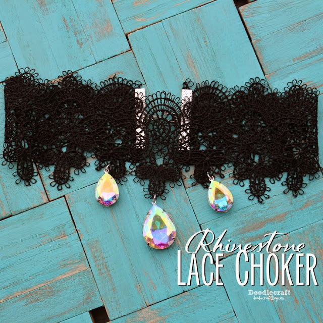 http://www.doodlecraftblog.com/2015/03/rhinestone-and-lace-choker.html