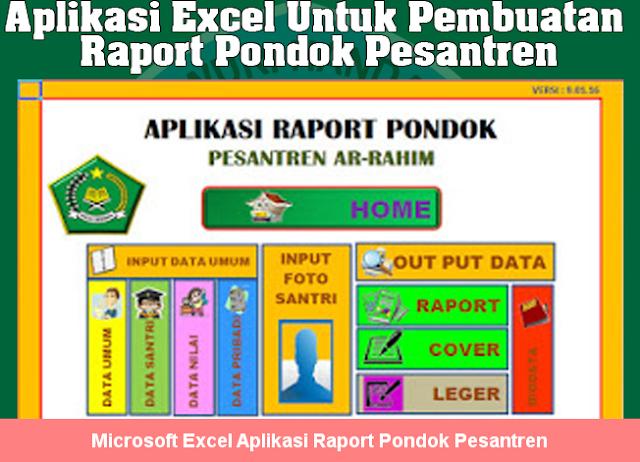 Aplikasi Raport Pondok Pesantren