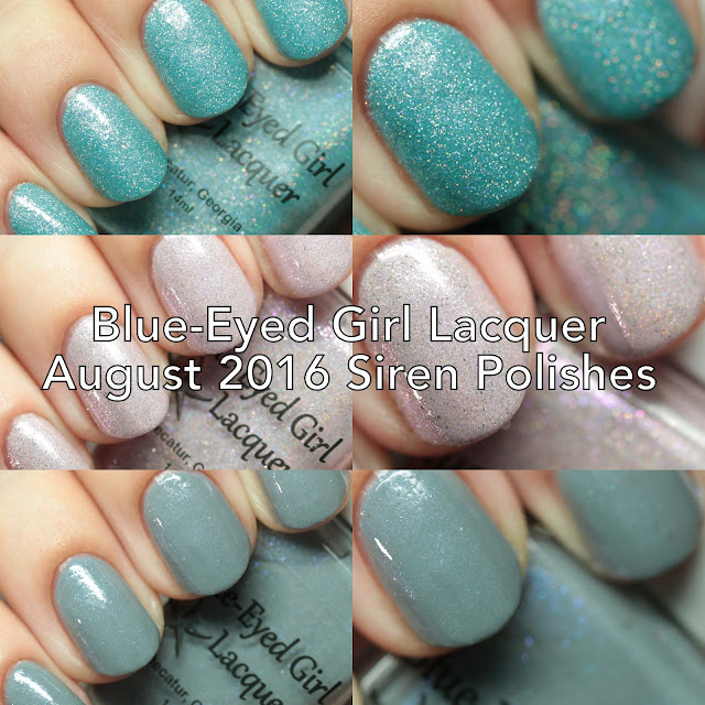Blue-Eyed Girl Lacquer August 2016 Siren Polishe