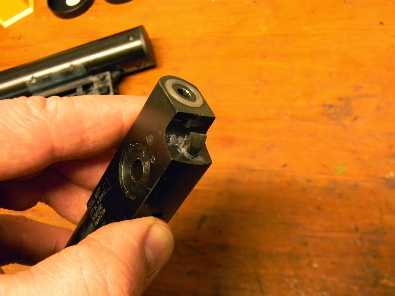 Another Airgun Blog: Benjamin Trail Nitro Piston Pistol--Part 2