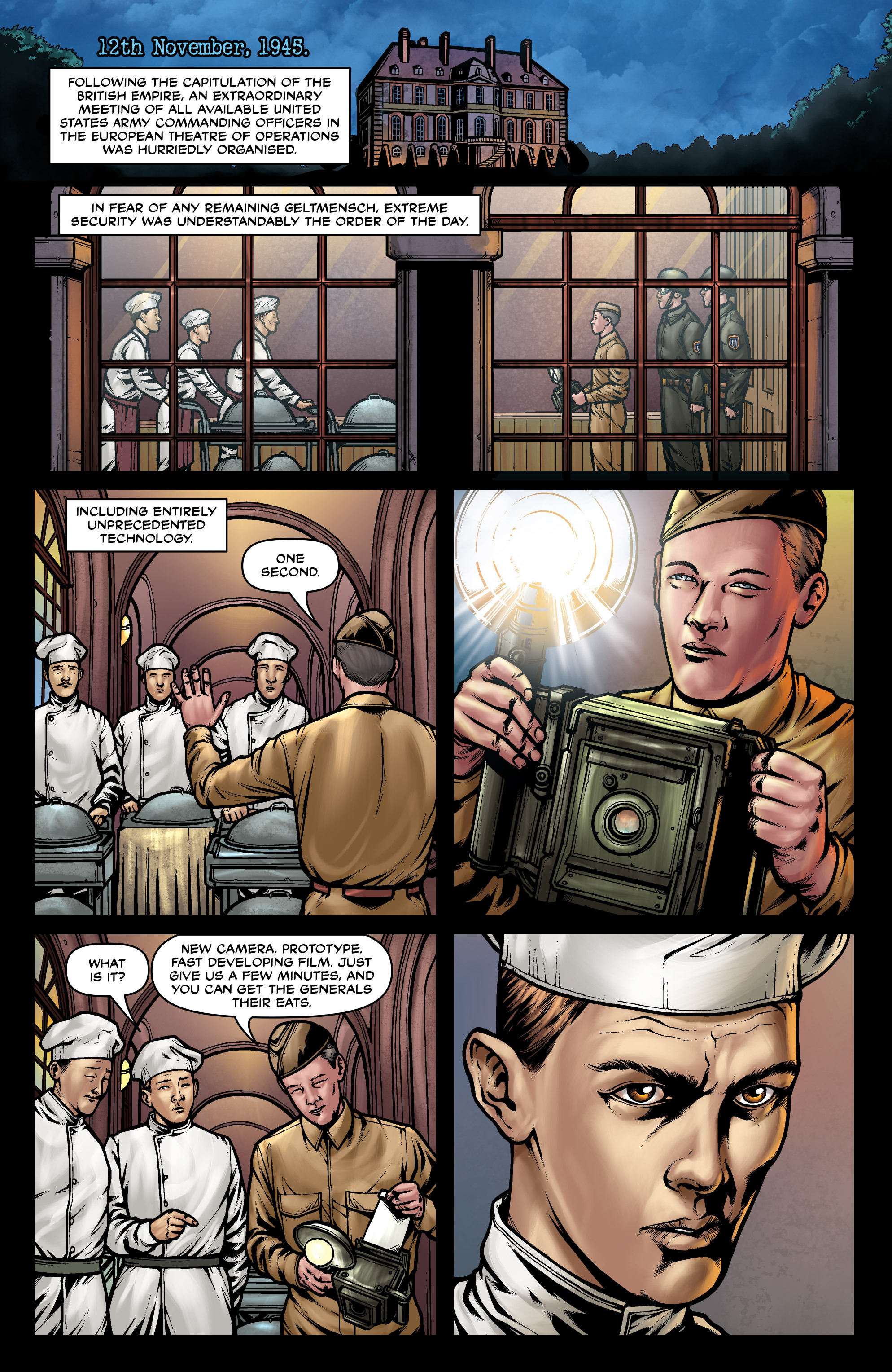 Read online Uber comic -  Issue #27 - 12