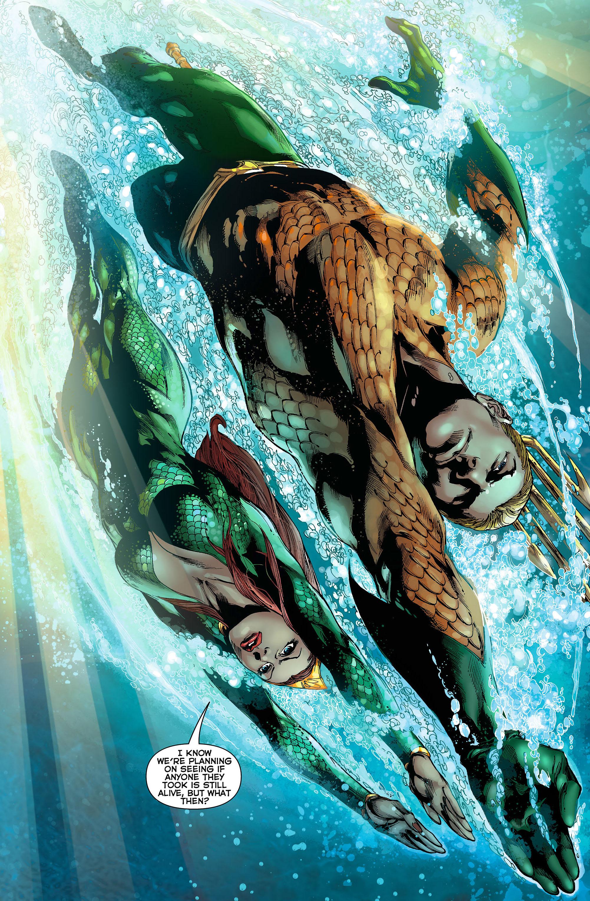 Read online Aquaman (2011) comic -  Issue #3 - 20