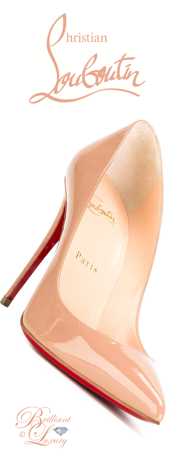 Brilliant Luxury ♦ Christian Louboutin Pigalle Follies Pumps