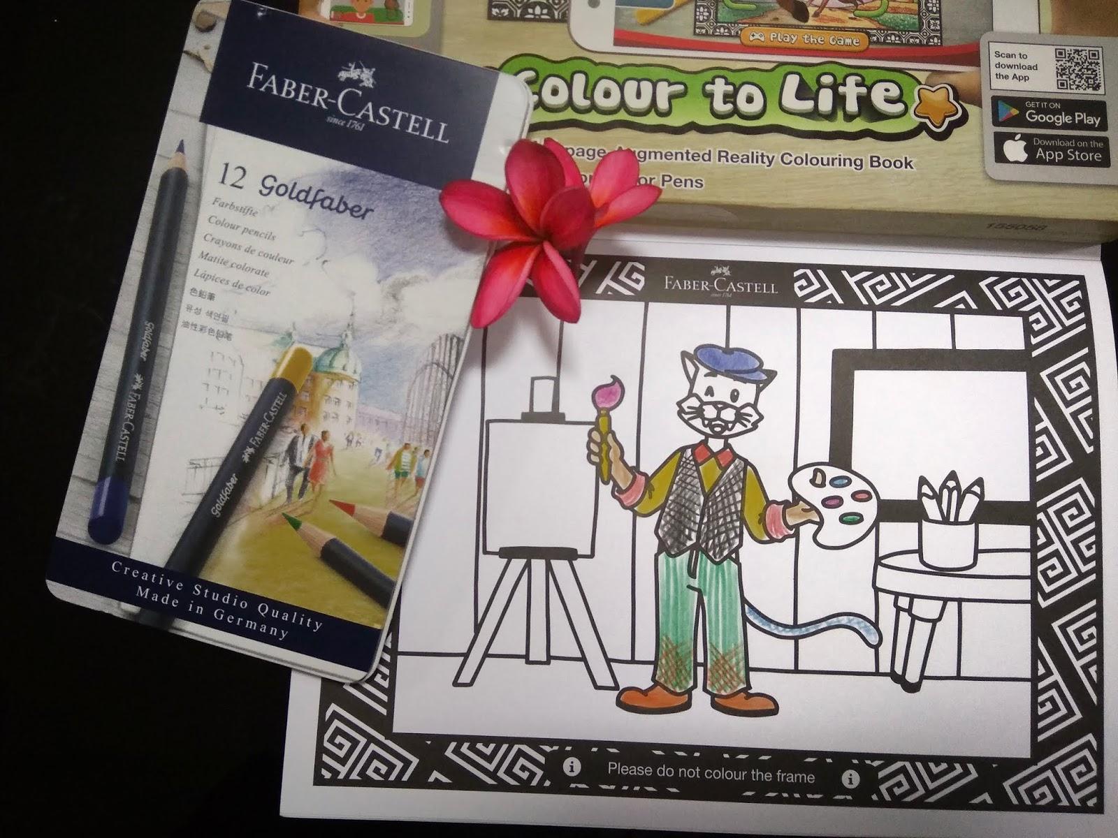 Faber Castell Colour To Life Emak Rileks Anak Hepi Goldfaber