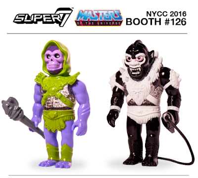 New York Comic Con 2016 Exclusive Masters of the Universe Vinyl Figures by Super7 – Skeletor & Beastman