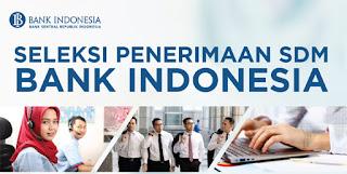 Lowongan Kerja SDM Bank Indonesia
