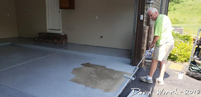 how to epoxy floor