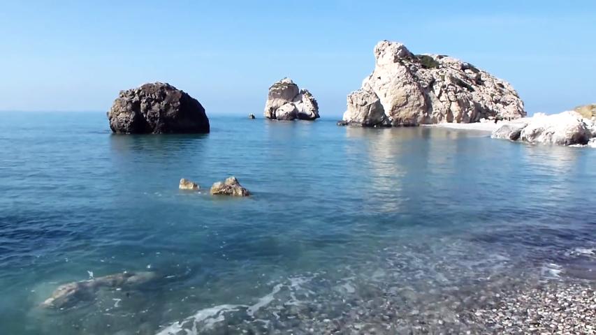 Paphos Cipro la spiaggia di Afrodite