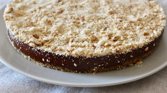 Tarta mousse de chocolate sin horno (sin gluten ni lactosa)
