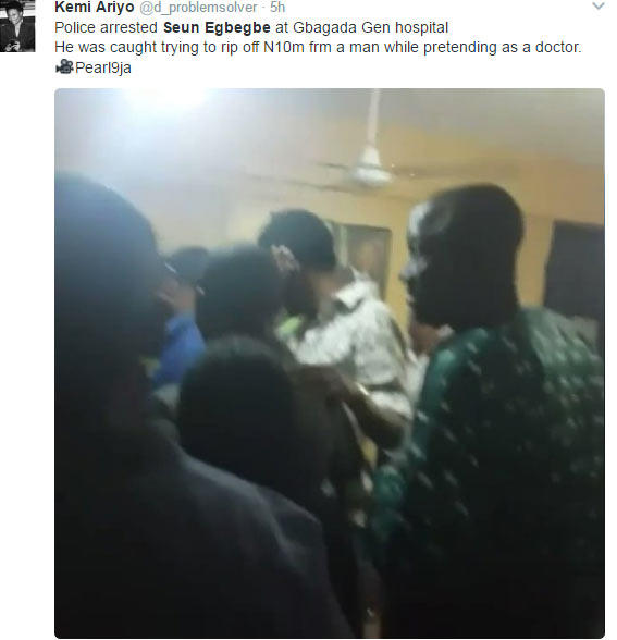 See how Nigerians reacted after Seun Egbegbe got arrested second time in 2 months